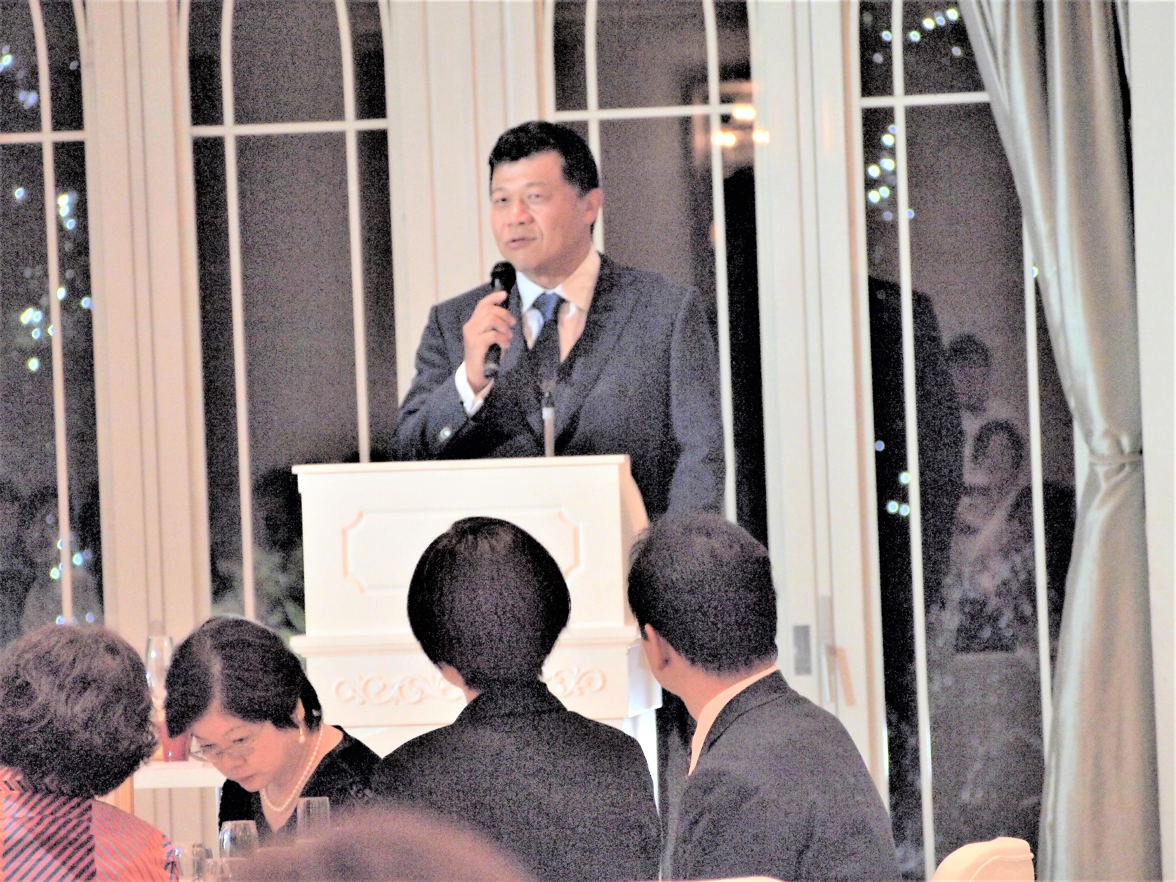 黒龍酒造㈱代表取締役、福井県酒造組合会長、水野直人様