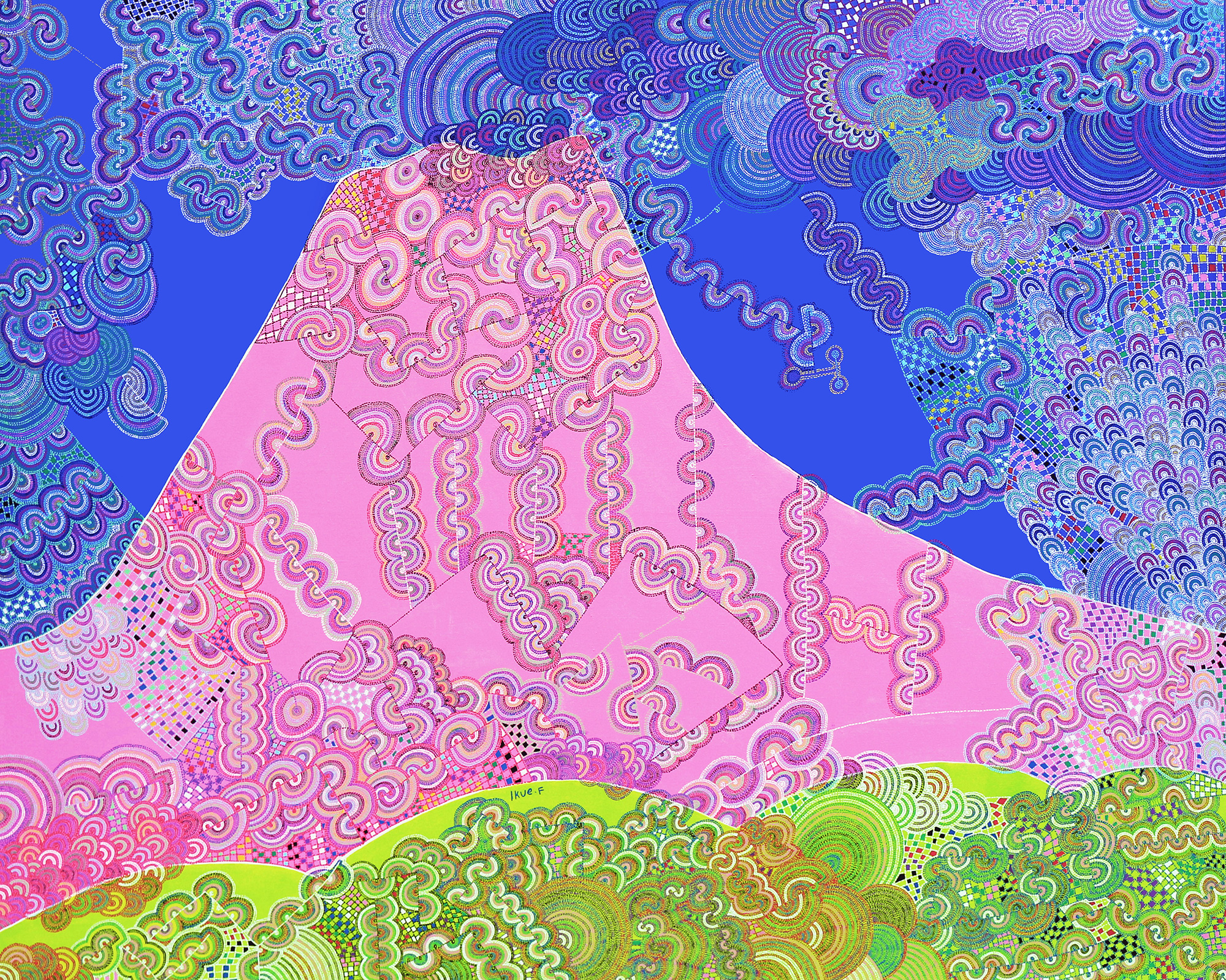 『楽しさがあふれ出る山 富士山』